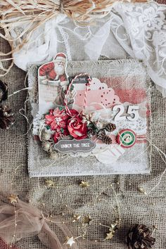 A rustic Christmas card which can help you to create a very festive mood before the main holiday in a year ❄️