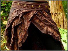 Long Gypsy Skirt Festival Bohemian Boho Hippie by AryaClothing