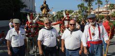 Foto de archivo: Hermanos Mayores de la Hermandad de San Isidro de Almuñécar
