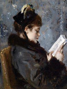Risultati immagini per Alfred Stevens (Belgian, 1823-1906)