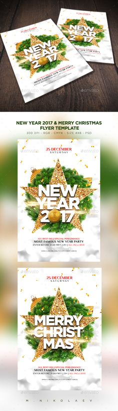 New Year Party Flyer Party flyer, Flyer template and Club parties - free printable christmas flyers templates