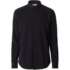 SHIRT - LES DEUX - COTTON FASHION - MENSWEAR - BLACK