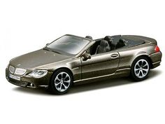 #Burago bmw 645i cabriolet 2008 #'brown metallic' diecast model 1:43 new & #boxed,  View more on the LINK: http://www.zeppy.io/product/gb/2/182051252448/