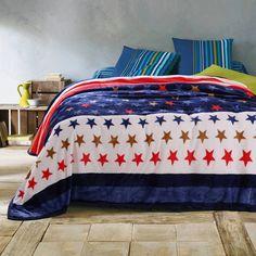 Fleece blanket blanket with little stars pattern,120x200cm/150x200cm queen king size blanket - Shopamazon Nation