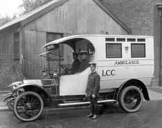 Things have come a long way - Take a look at this ambulance.