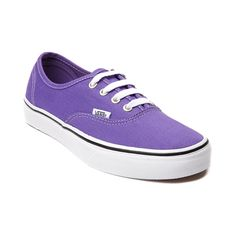 Shop for Vans Authentic Skate Shoe, Passion Flower, at Journeys Shoes. The Authentic from Vans is always in style. Comin to you featuring a purple passion flower canvas upper, lace closure, and vulcanized rubber outsole with waffle tread. Available only online at Journeys.com and SHIbyJourneys.com!