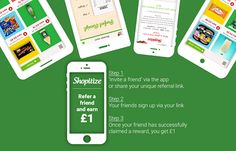 Refer a friend to Shopitize and Earn Refer A Friend, Happy Shopping, Invitations, Invitation