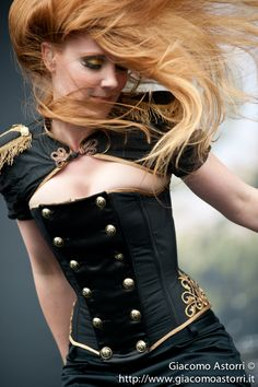 Simone Simons (Epica)  It would not be my account w/out a pin from Epica... :)
