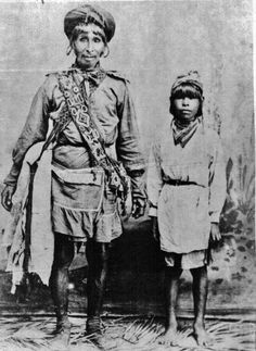 Chief Tallahasse and his son Tommie