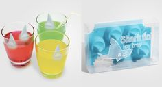shark ice cubes