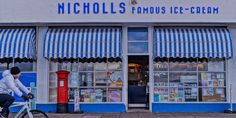 some of the best ice cream ever was eaten here while looking across to Wales.