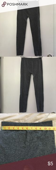 GRAY LEGGINGS!!! Dark Gray. No tag. Measurements shown in pictures. Pants Leggings