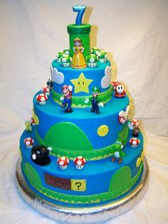 another mario bros cake