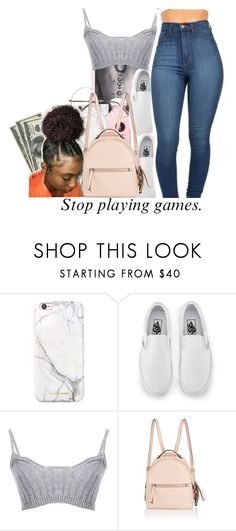 """""""untitled #277"""" by yani122 ❤ liked on Polyvore featuring russell+hazel, Vans, Fendi and Duffy"""