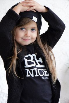 Children's T-Shirt to remember to be nice to each other