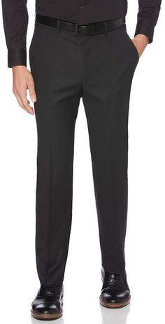 Perry Ellis Classic Fit Neat Portfolio Dress Pant Tall Pants, Perry Ellis, Mens Big And Tall, Classic, Fitness, Nails, Dresses, Fashion, High Waist Pants