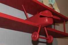 Airplane Shelf 3 ft long plane pilot aircraft door AirplaneShelves | pin maudjesstyling