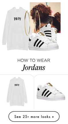 """Papi"" by nadiyalove on Polyvore featuring adidas"