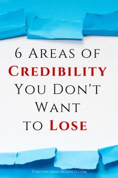 """Maintaining credibility on a personal or professional level should be a priority for all of us.  The term credible is defined as """"capable of being believed; believable, worthy of belief or confidence; trustworthy"""".  While being credible is important to all aspects of business, following are some areas of credibility that can affect the satisfaction and experience of key customer groups; employees, volunteers, vendors and customers."""