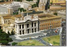 Papal Archbasilica of St. John Lateran the Cathedral of the Church of Rome, Roma