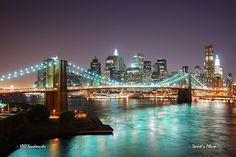 New York City Skyline at night...can't wait! July can't come fast enough!