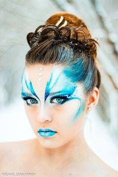 The art of makeup / brilliant colors