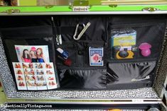 summer camp packing trunks lid mate organizer Everything Summer Camp- These are great ideas!
