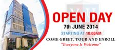 Let us all meet at Victoria University campus on 7th June for the #OPENDAY.  Don't miss a #selfie opportunity with our Board Member Mr. Rajiv Ruparelia, VC Dr. Stephen, #Academic Registrar and the Dean of Students.