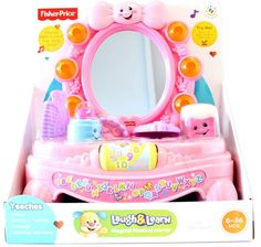 New Laugh & Learn Magical Musical Mirror Pink by  Fisher Price