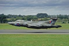 From Colin Smedley comes this magnificent image that seems to show 55,000 pounds+ of Blackburn Buccaneer hovering over the runway. In the 1980s and 90s, No 208 Sqn RAF were the real experts in ultra low-level under the radar nuclear strikes. During the International Air Tattoo in 1993, to mark the squadron's 75th birthday, this Buccaneer S.2B was flown at an altitude of just 5 feet for the entire length of RAF Fairford's runway.