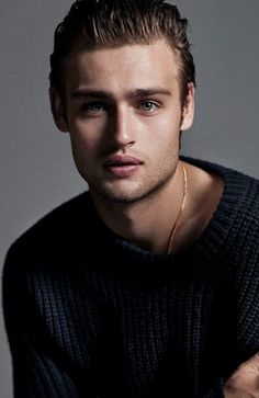 Douglas Booth Hairstyle