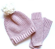 Cute leg warmers and matching hat