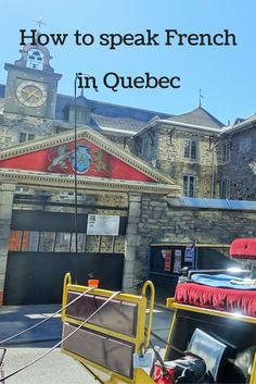 When you visit Canada, you can practice your French in Quebec.  Just don't expect it to be same as French in France - it's definitely different!: