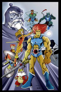 Fan Art of ThunderCats for fans of Thundercats 25649633 Best 80s Cartoons, Old School Cartoons, Classic Cartoons, Cartoon Toys, Cartoon Posters, Cartoon Characters, Pound Puppies, Gi Joe, He Man Thundercats