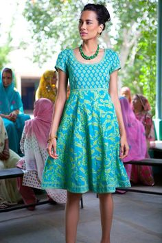 Collection By Jugni's Jania - pretty knee length dress
