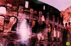 Photo du Colisée à Rome, en Italie, daté de 1991.