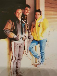 1984 Elio De Angelis + Nigel Mansell + Derek Warwick by silvia helena Derek Warwick, Nigel Mansell, F1 Drivers, Champions, Motogp, Formula 1, 1980s, Racing, Cars