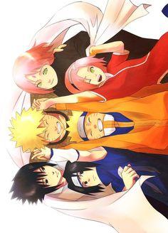 Anime: Naruto Personagens: Uchiha Sasuke, Haruno Sakura e Uzumaki Naruto TEAM 7 Naruto Uzumaki, Naruto And Sasuke, Naruto E Sakura, Naruto Team 7, Naruto Cute, Naruto Family, Naruto Funny, Kakashi Hatake, Sakura Haruno