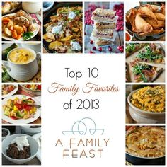 Top 10 Family Favorites of 2013