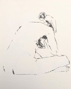 Thanks to the wonderful model and to Rebecca Kimmel for last nights instructional life drawing session @korpusschoolofart #lifedrawing #sketch #ink #patreonartist #nathanaardvark #parallelpen #pilotpen #pilotink