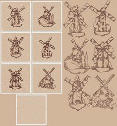 Advanced Embroidery Designs - Windmill Quilt Block Set