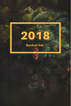 """It is only natural that my first post for this year is a bucket list. And I say bucket list, because when I set up """"resolutions"""", it never works out …"""