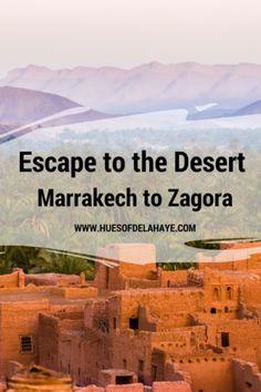 Escape to the Desert - Marrakech to Zagora