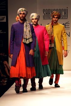 Indian clothing for men by Sabya