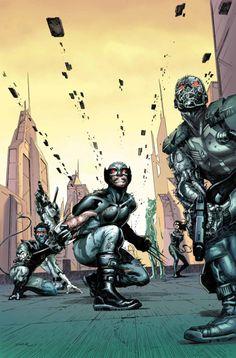 Uncanny X-Force #28 // Jerome Opeña