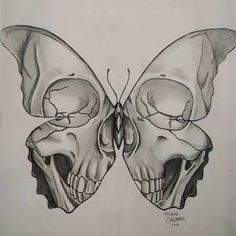 Leading Tattoo Magazine & Database, Featuring best tattoo Designs & Ideas from a. - New Tattoo Trend Dark Art Drawings, Pencil Art Drawings, Art Drawings Sketches, Tattoo Drawings, Cool Drawings, Body Art Tattoos, Cool Tattoos, Skull Tattoos, Drawings Of Skulls