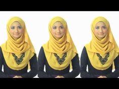 Shawlbyvsnow : Hijab Tutorial 1 with VS Essential Scarf - YouTube