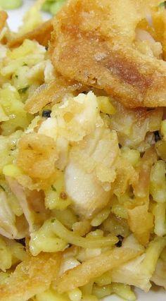 Chicken Rice-a-Roni Casserole - Plain Chicken Chicken Rice Casserole, Casserole Dishes, Casserole Recipes, Rice A Roni, Cheesy Rice, Baked Chicken Recipes, Chicken Meals, Cheesy Chicken, One Pot Dinners