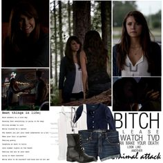 """Elena Gilbert. 