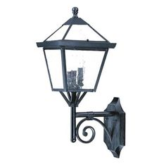 """Another Charleston Garage Sconce, $121 @ 9.75"""" w x 24.5"""" h x 11.75 projection"""